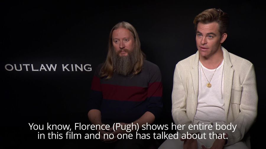 Chris Pine unsure over reaction to full frontal nudity