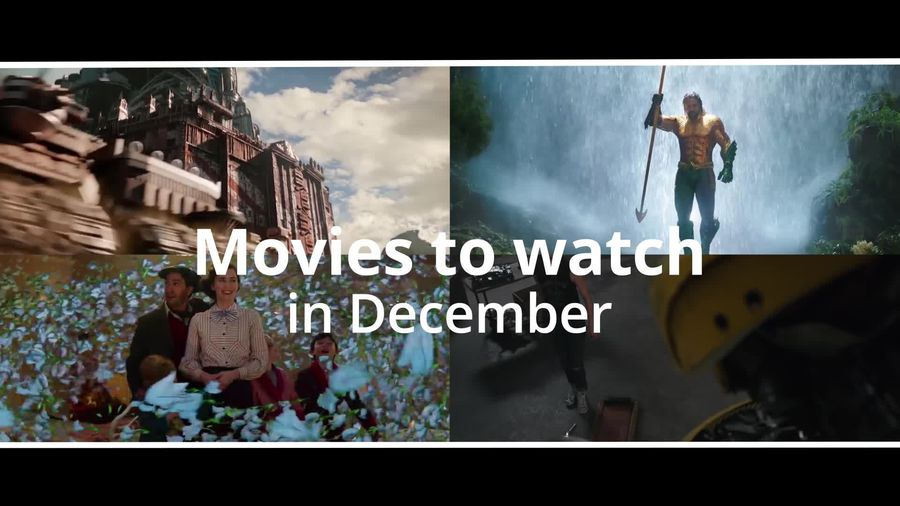 Movies to watch in December: From Aquaman to Mary Poppins Returns