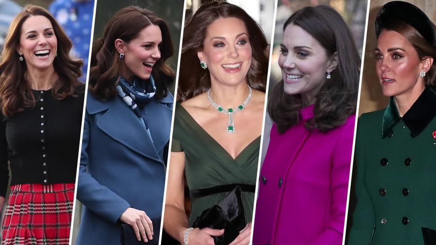 Duchess of Cambridge: 2018 fashion highlights