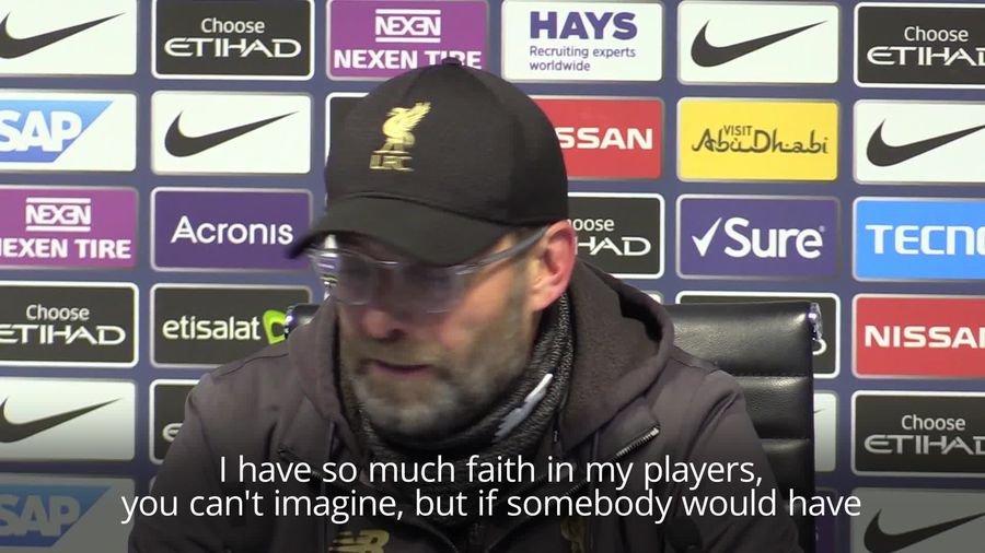 Klopp and Guardiola reflect on the title race after Man City's crucial win over Liverpool