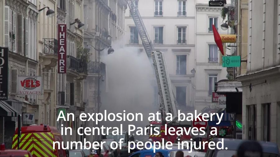 Explosion at a Paris bakery