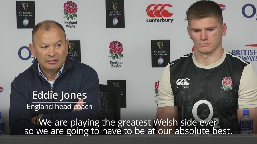 Eddie Jones: Wales side is best ever