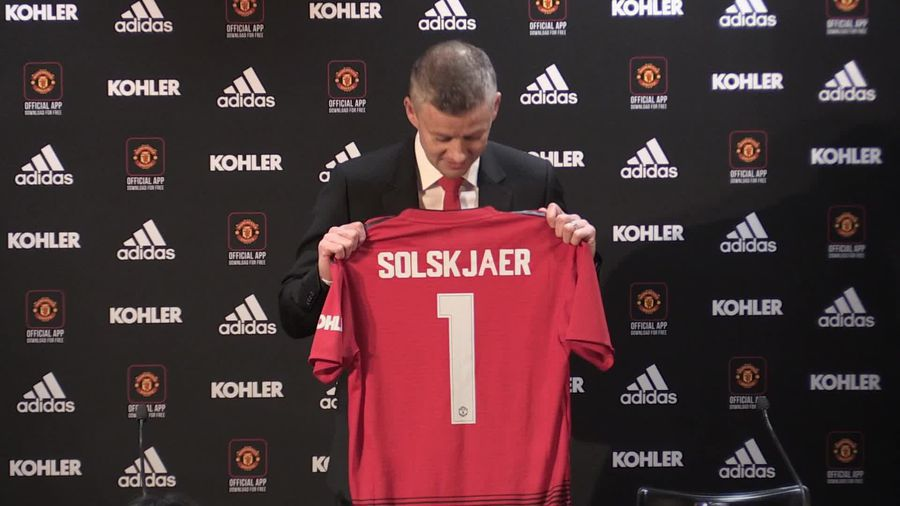 Solskjaer proud to be handed dream job at Manchester United