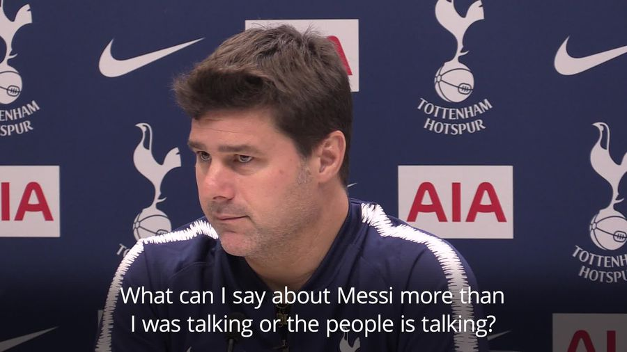 Pochettino calls for Tottenham to play like Messi