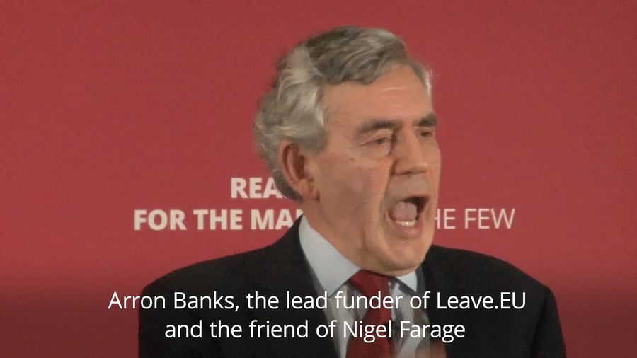 Brown: Finances of Farage and Brexit Party must be investigated