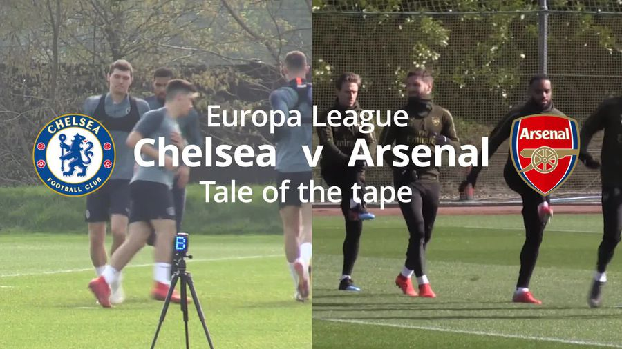Chelsea v Arsenal Europa League final: Tale of the tape