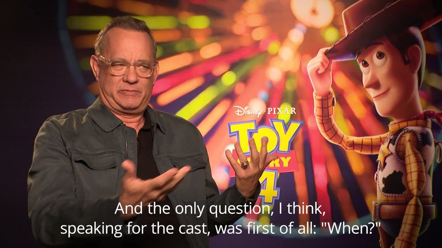 Toy Story 4: Tom Hanks 'fortunate to have been smart enough' to say yes to Woody