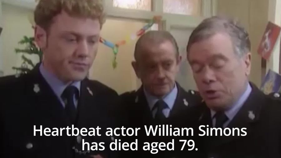Heartbeat actor William Simons dies aged 79