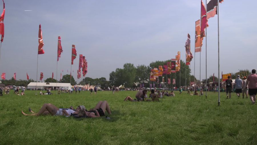 Glastonbury Festival set to be hot and humid