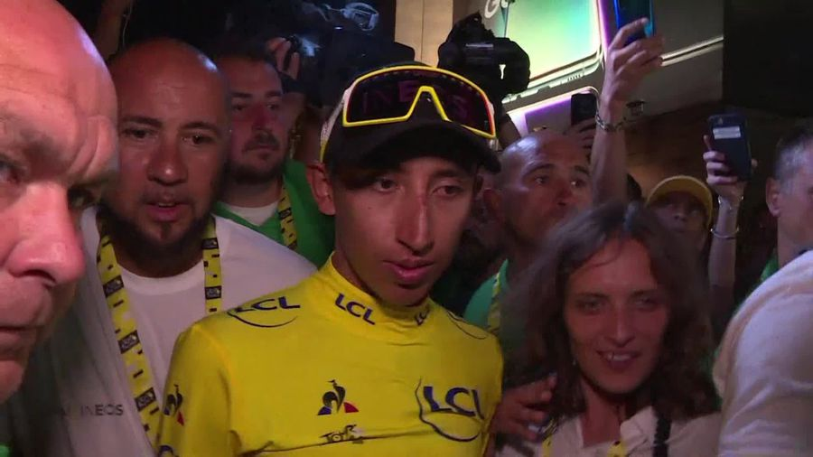 Egan Bernal: Tour de France win is for Colombia