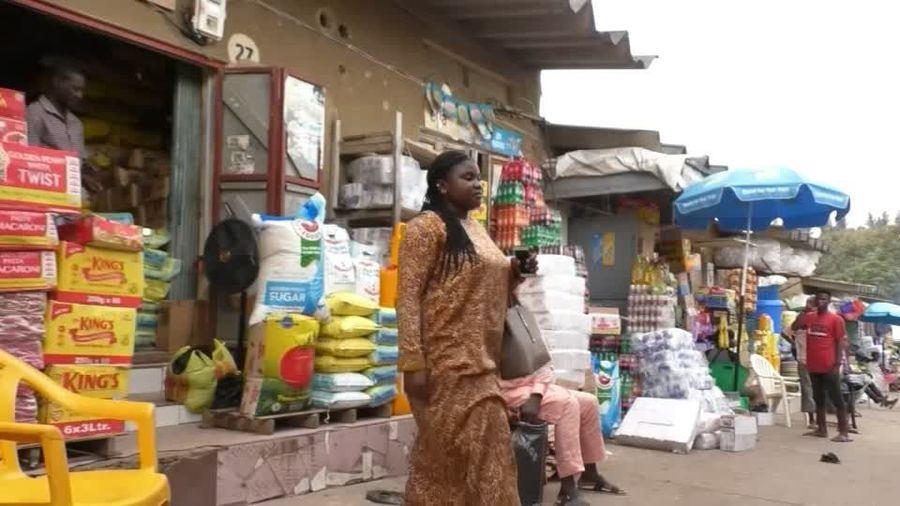 A Nigerian mother's struggle against rising food prices