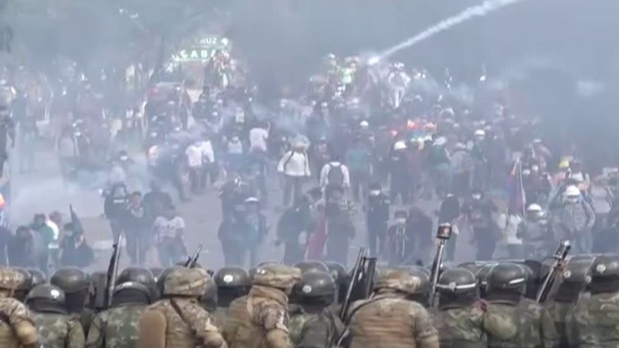 Death toll rises in Bolivia after soldiers move against protesters