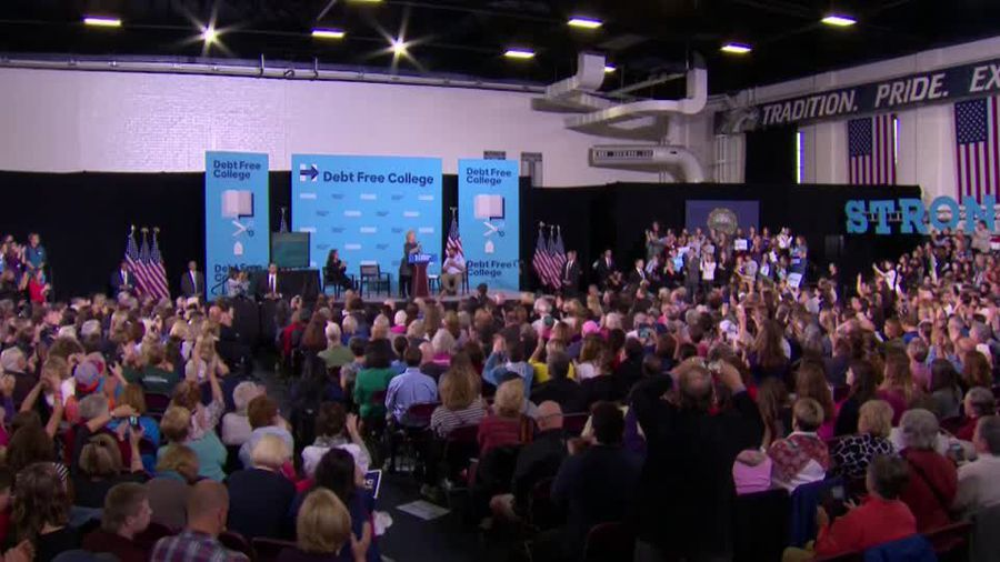 Hillary Clinton walks back Sanders comments