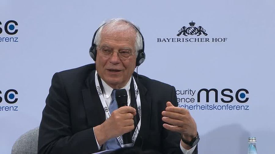 """""""Europe has to develop an appetite for power,"""" says the EU's Borrell."""