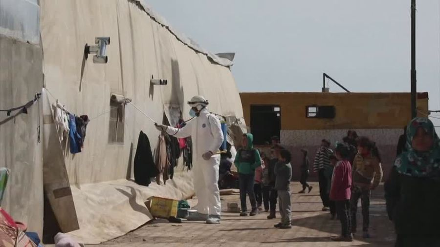 Syrian refugees face possible coronavirus outbreak in camps