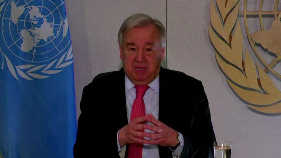 World faces 'most challenging crisis' since WWII -U.N. chief