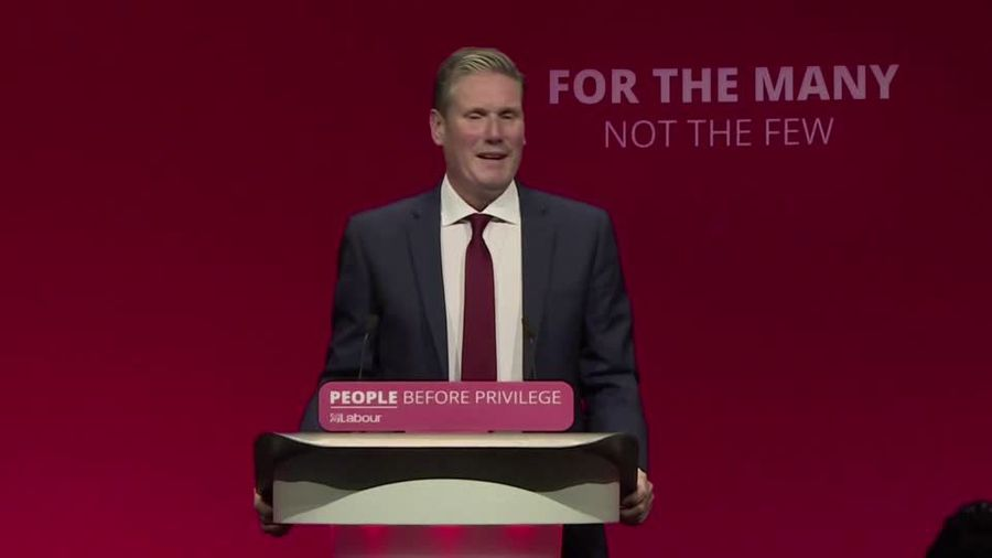 Britain's Labour Party names Keir Starmer leader