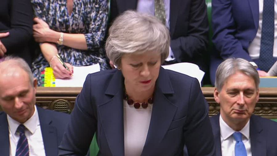May suffers another Brexit blow in parliament