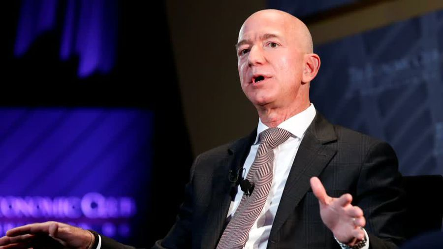 Amazon CEO says tabloid owner blackmailed him