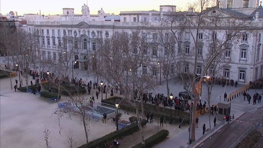 Catalan separatists' trial starts in Madrid