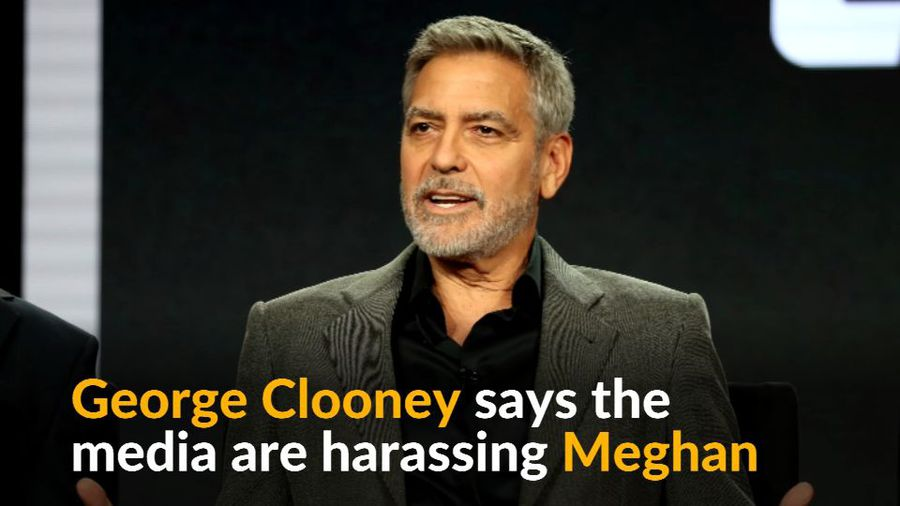 Meghan being harassed just like Diana - George Clooney