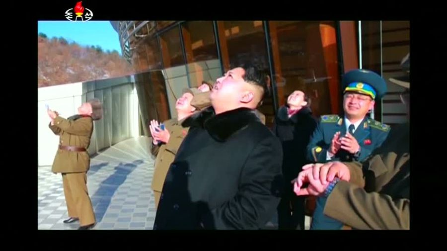 North Korea oversees test of new weapon -KCNA