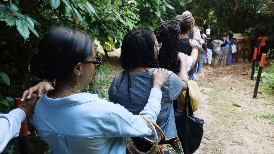 The U.S. family walking in the footsteps of their slave ancestors
