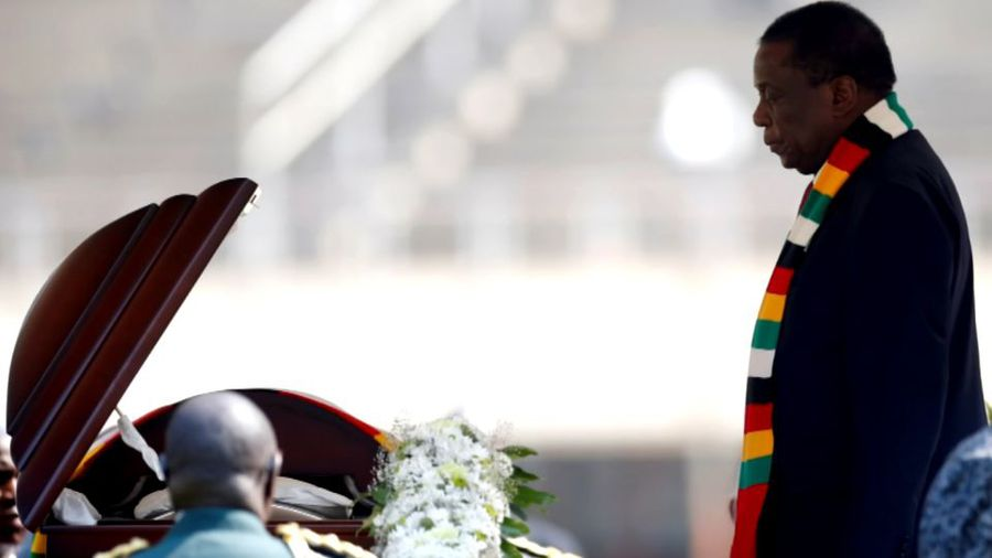 Mugabe's burial controversy reaches its end