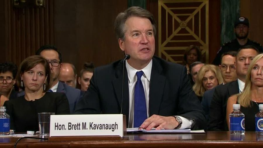 Trump rebuffs Kavanaugh impeachment calls after new sexual misconduct report