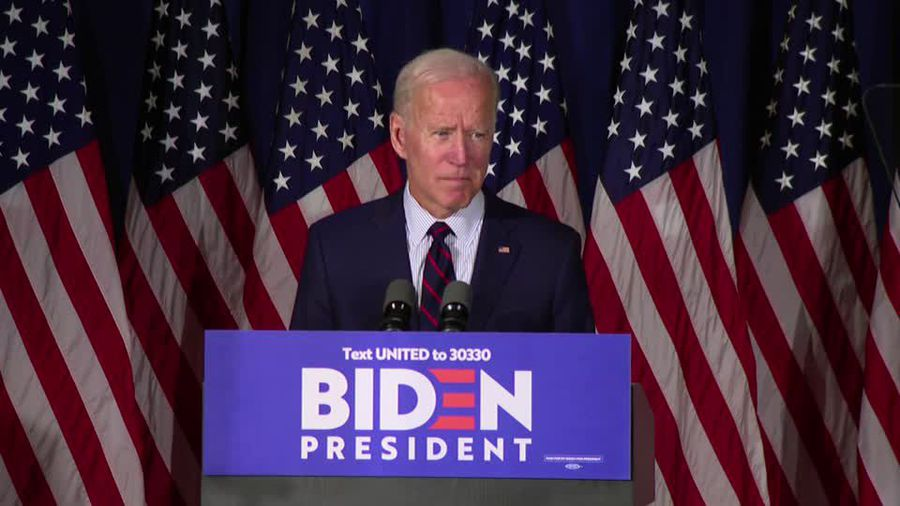 Trump attacks whistleblower, Biden says impeach