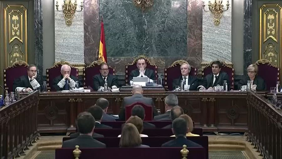 Spain jails Catalan separatist leaders for a total of almost 100 years