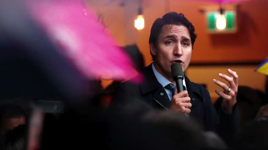 Trudeau hopes to cling to power as Canada votes