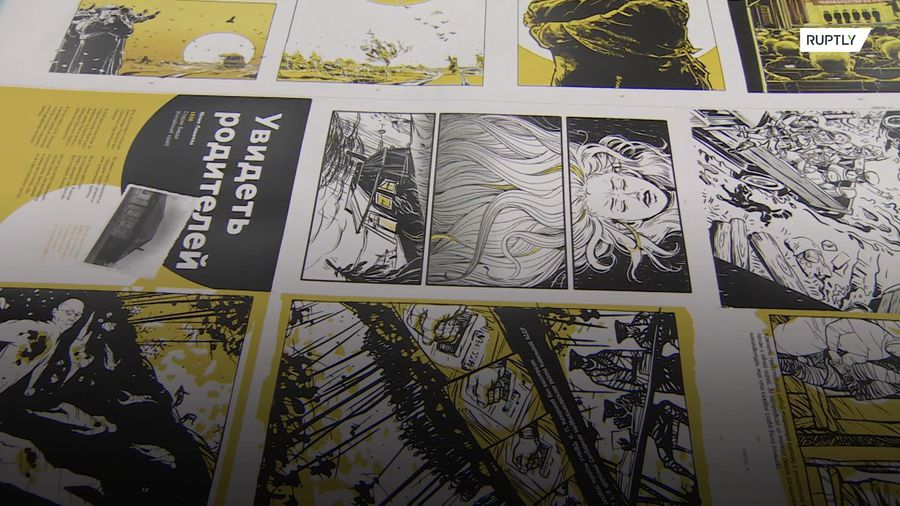 GULAG museum publishes graphic novel about horrors of Soviet forced-labour camps
