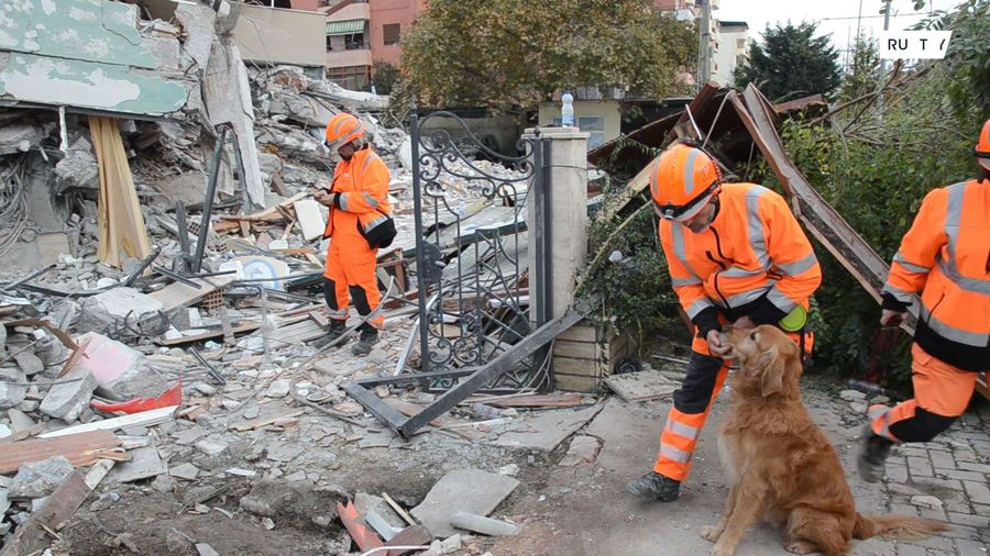 'Everything started crumbling' - search for survivors after deadly earthquake in Albania intensifies