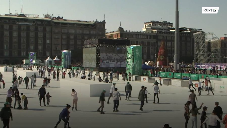 'Let's go ice skating when we get to Mexico City' is something we can say now