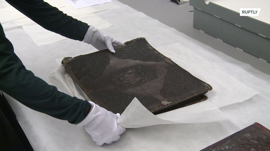 Horrifying Nazi photo album framed in human skin discovered