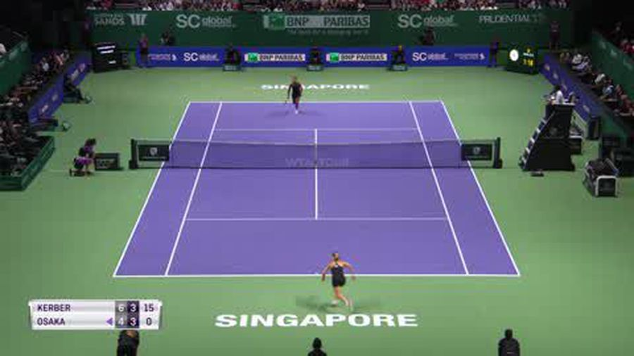 Wins for Kerber & Stephens at wide open WTA Finals