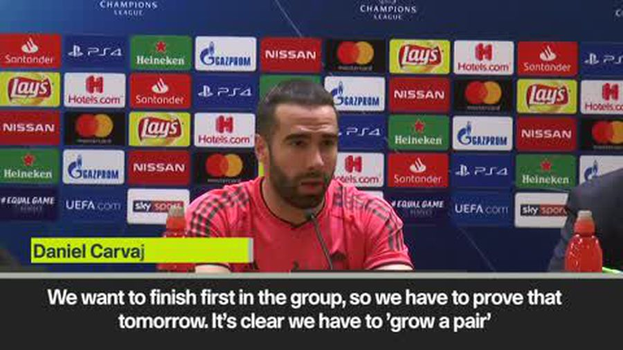 """Real Madrid need to 'grow a pair"" Carvajal"