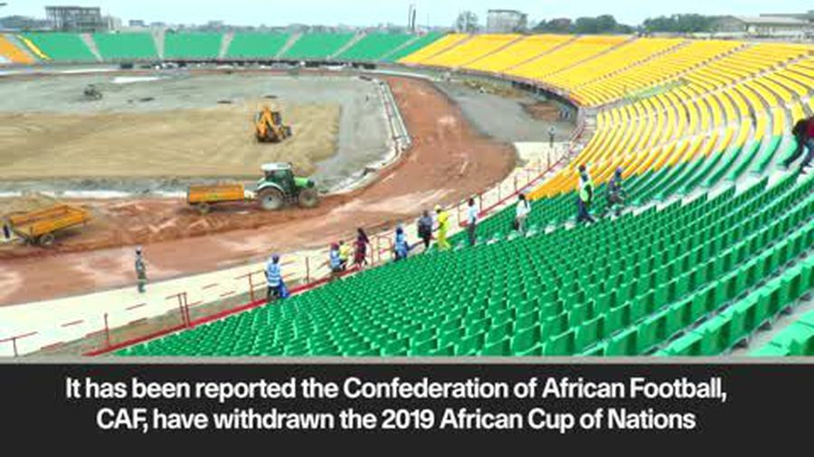 CAF reportedly withdraw 2019 AFCON hosting right from Cameroon