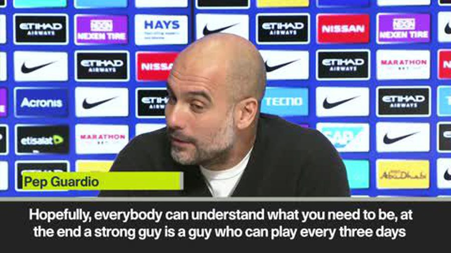 Pep Guardiola challenges Benjamin Mendy to be consistently fit
