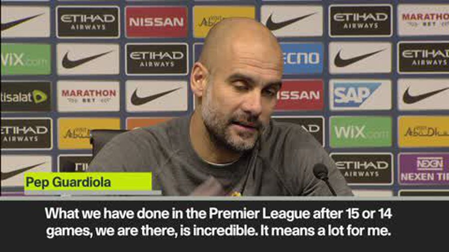 Guardiola - What we have done is incredible