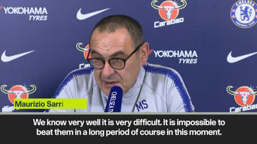 Sarri admits he 'doesn't know how to beat' Guardiola's Manchester City