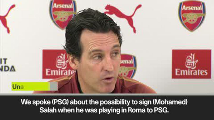Emery looked at Salah signing and admits he had doubts when he was PSG boss