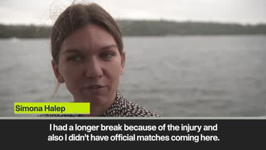 Returning Halep hopes to acclimatise in Australia after traveling from -2c temperatures back home