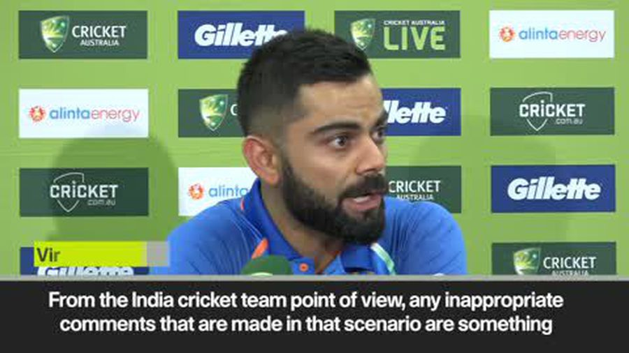 Kohli says India do not support sexist comment pair