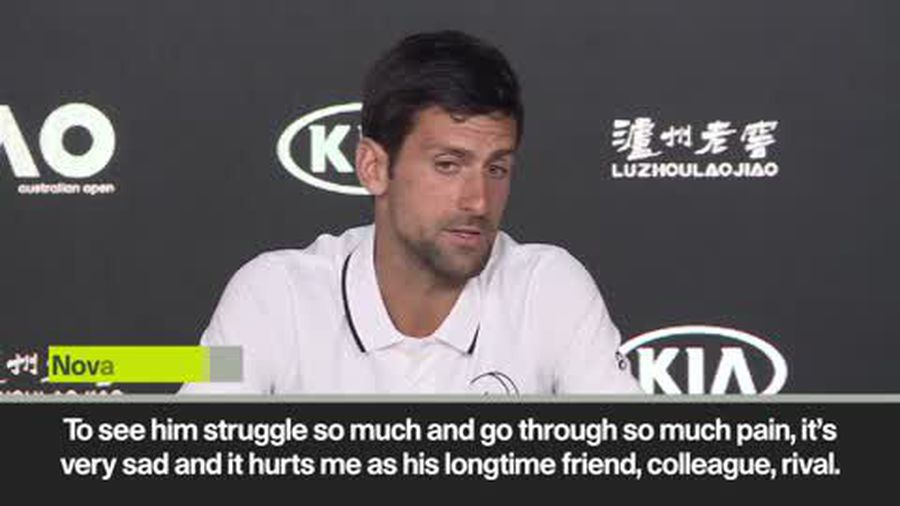 """Djokovic and Federer pay tribute to """"friend, colleague and rival"""" Murray"""