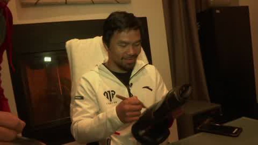 Pacquiao excited to face his first fight at the age of 40