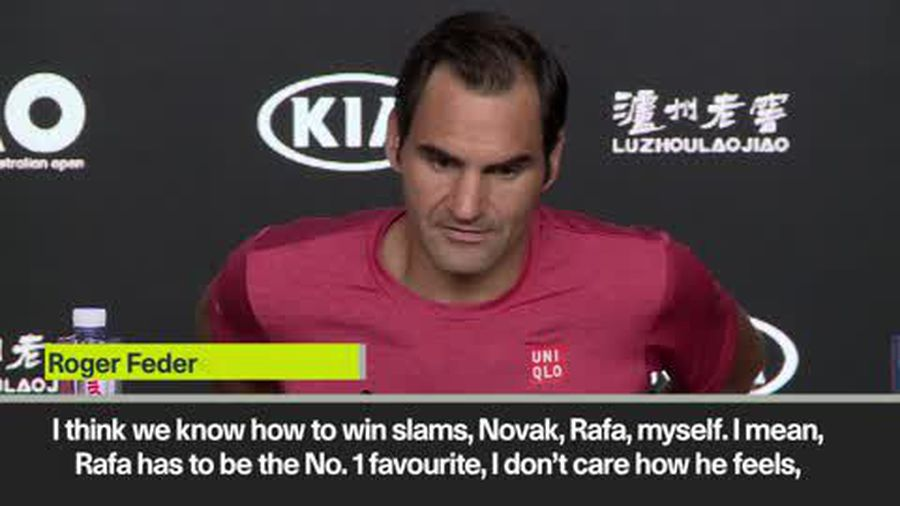 'We know how to win slams' Federer