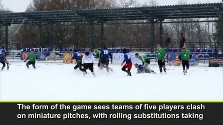 Snow rugby an inside look from Russia assessing this cool sport