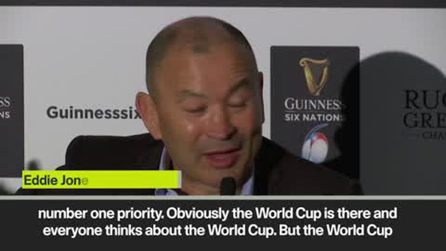 Eddie Jones jokes about spying on Ireland and discusses World Cup
